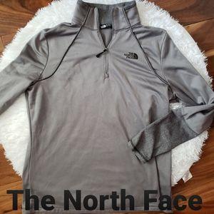 The North Face Gray Women's Half Zip